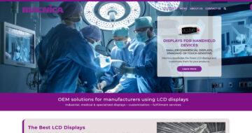 Macnica Displays Website Homepage
