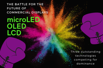 Which display technology is best? microLED, OLED or LCD