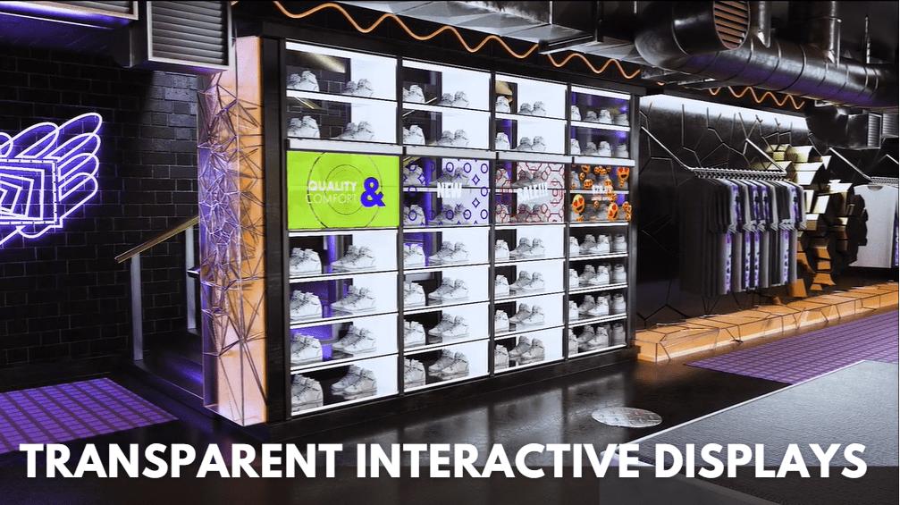 Macnica Transparent Interactive OLED Display