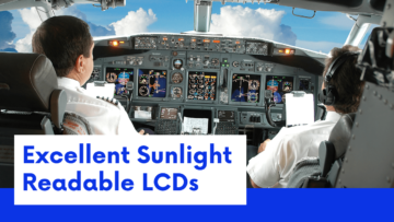 Ortustech Sunlight Readable LCDs